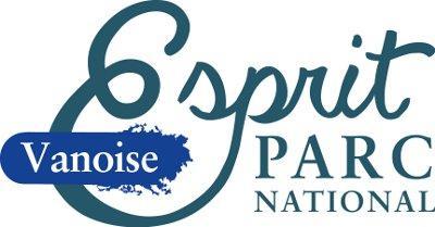 Le logo de la nouvelle marque Esprit parc national de la Vanoise