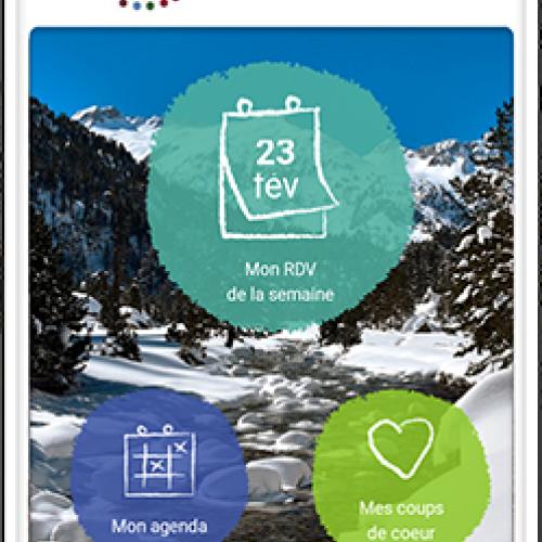 Mon RDV nature : l'application mobile des parcs nationaux de France