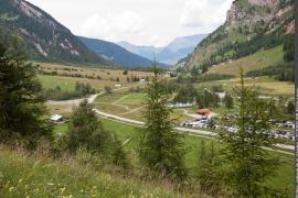 Le vallon de Rosuel à Peisey-Nancroix