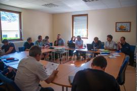 Journée de restitution Alpages-sentinelles 2015 avec les éleveurs, les partenaires, les chercheurs.