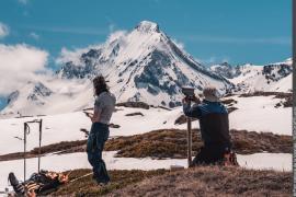 Installation d'une balise bioacoustique pour l'étude du lagopède alpin