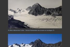 Le glacier de Gébroulaz (1949 - 2016)