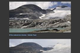 Le glacier de l'Arpont (1996 - 2016)