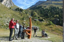 sentier de découverte de l'Orgère, adapté aux personnes handicapées moteur, aveugles ou malvoyantes